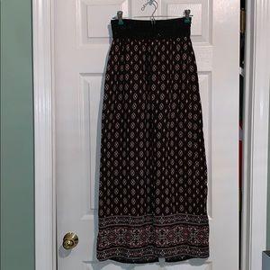 American Rag Peasant Skirt w/ Elastic Waist & Slit